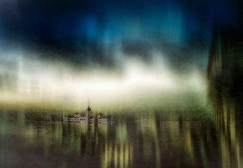 Budapest Oil Painting Valokuvatapetti