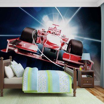 Car Formula 1 Red Valokuvatapetti