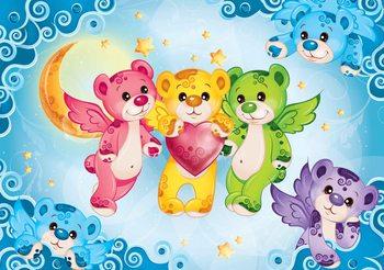 Care Bears Heart Valokuvatapetti