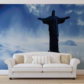 Christ Redeemer Rio Valokuvatapetti