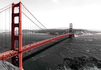 City Golden Gate Bridge Valokuvatapetti