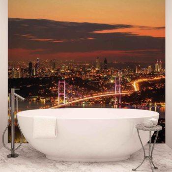 City Skyline Istanbul Bosphorus Valokuvatapetti