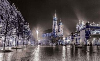 City Skyline Krakow Valokuvatapetti