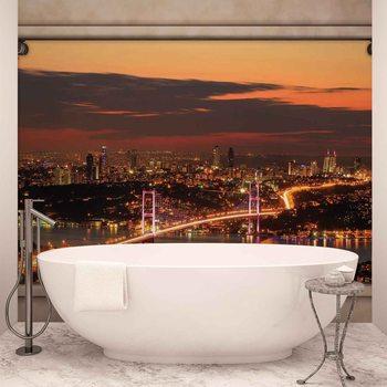City Skyline View Istanbul Valokuvatapetti