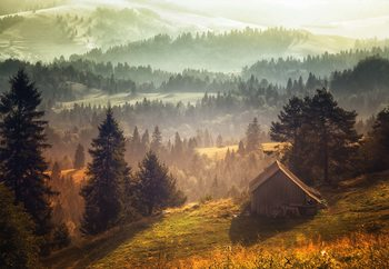 Cottage With Views Valokuvatapetti