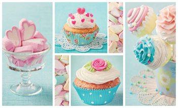 Cupcakes Valokuvatapetti
