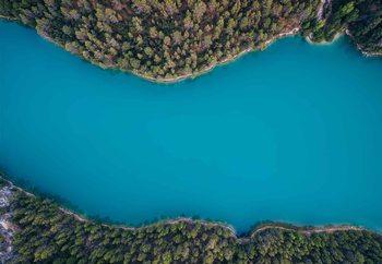 Deep Blue Valokuvatapetti