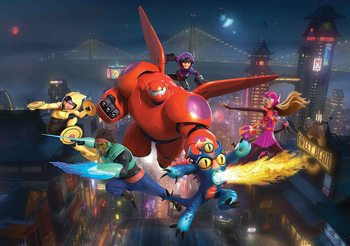 Disney Big Hero 6 Valokuvatapetti