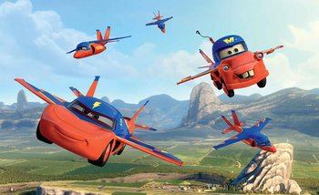 Disney Cars Planes Air Mater Valokuvatapetti