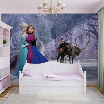 Disney Frozen Elsa Anna Valokuvatapetti