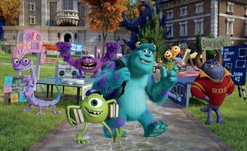 Disney Monsters Inc Valokuvatapetti