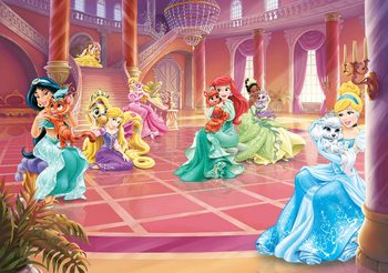 Kuvatapetti, TapettijulisteDisney Princesses Cinderella Jasmine