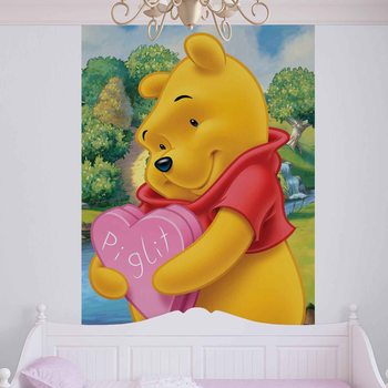 Disney Winnie Pooh Bear Valokuvatapetti
