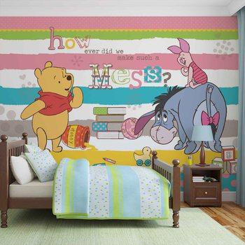 Disney Winnie Pooh Eeyore Piglet Valokuvatapetti