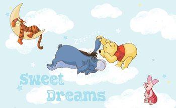 Disney Winnie Pooh Piglet Tigger Eeyore Valokuvatapetti