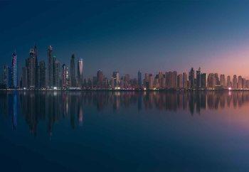Dubai Marina Skyline Valokuvatapetti