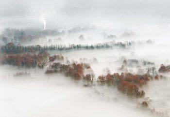 Factory Fog Valokuvatapetti