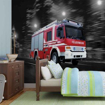 Fire Engine Valokuvatapetti