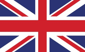 Flag Great Britain UK Valokuvatapetti