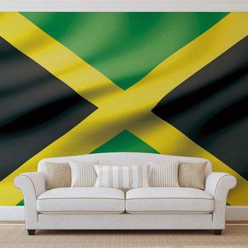 Flag Jamaica Valokuvatapetti