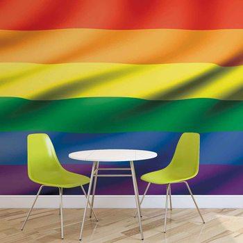 Flag Rainbow Gay Pride Valokuvatapetti