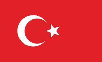 Flag Turkey Valokuvatapetti