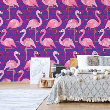 Flamingo Pattern Valokuvatapetti