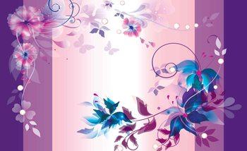 Floral Design Valokuvatapetti