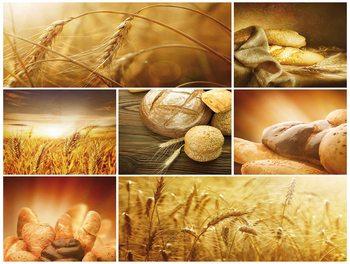 Food Bread Valokuvatapetti