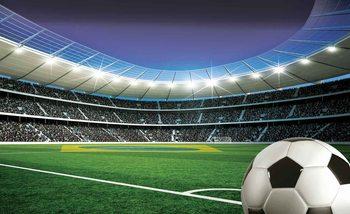 Football Stadium Sport Valokuvatapetti