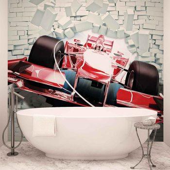 Kuvatapetti, TapettijulisteFormula 1 Racing Car Bricks