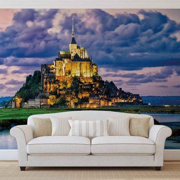 France Mont Saint Michel Valokuvatapetti
