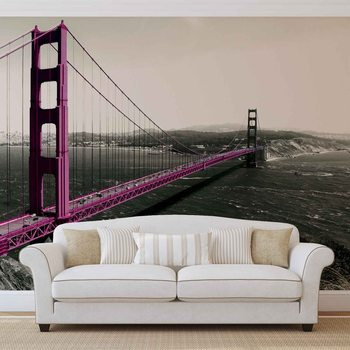 Kuvatapetti, Tapettijuliste Golden Gate Bridge