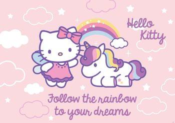 Hello Kitty Valokuvatapetti