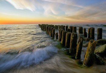 Lace Sunset Valokuvatapetti
