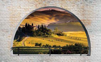 Landscape Nature Arch View Valokuvatapetti
