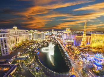 Las Vegas - Strip Kuvatapetti, Tapettijuliste