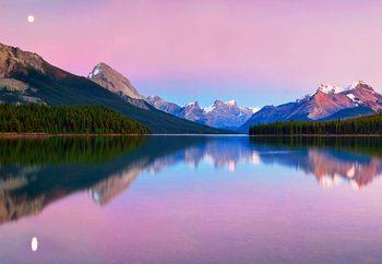 Maligne Lake Valokuvatapetti