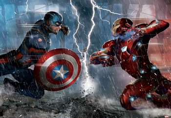 Marvel Avengers (10904) Valokuvatapetti