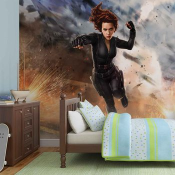Marvel Avengers Black Widow Valokuvatapetti