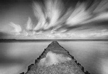 Melancholic Pier Valokuvatapetti