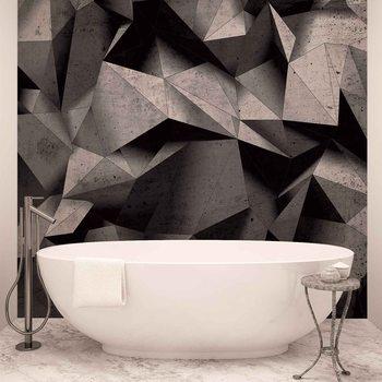 Modern Abstract Geometric Art Valokuvatapetti