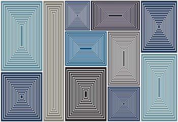 Modern Abstract Pattern Valokuvatapetti