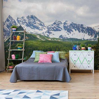 Mountains Alps Valokuvatapetti