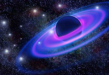 Neon Planet Valokuvatapetti