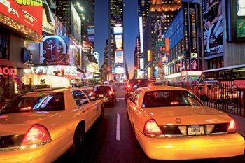 New York - taxi Kuvatapetti, Tapettijuliste