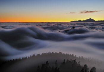 Ocean Of Clouds Valokuvatapetti
