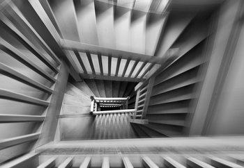 Old Staircase Valokuvatapetti