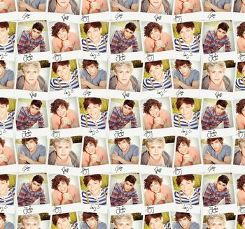 One Direction - Collage Kuvatapetti, Tapettijuliste