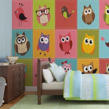 Owls Valokuvatapetti